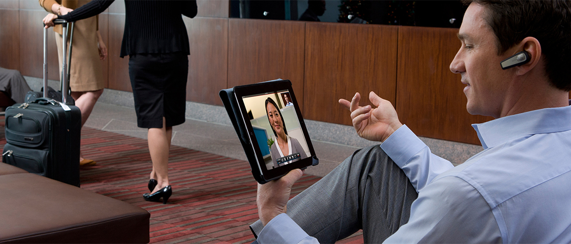 Polycom Mobile Videoconferencing from Tablet or iPad